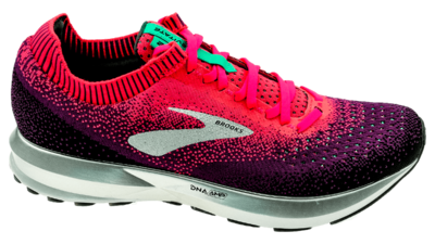 Brooks Levitate 2 pink/black/aqua