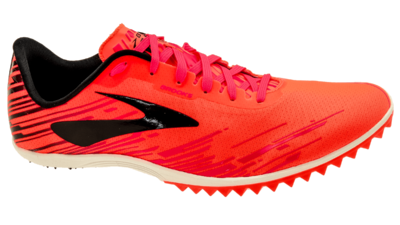 Brooks Men's Mach 18 orange/pink/black