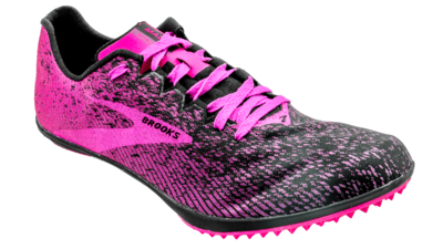 Brooks Women's Mach 19 black/hollyhock/pink