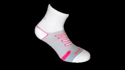 Brooks Unisex Ravenna Lightweight [white/brite pink]