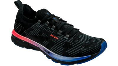 Brooks Ricochet 2 black/blue/fiery coral