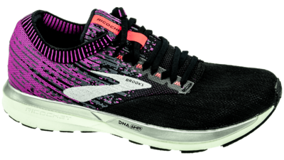 Brooks Ricochet black/purple/coral
