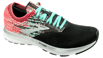 Brooks Ricochet coral/blue/black