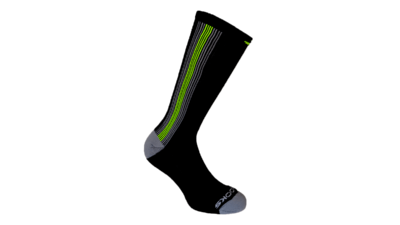 Brooks Unisex Surge Crew socks [nightlife/black]