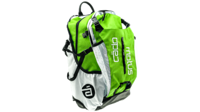 Airflow gear skate skeeler bag - brilliant green/white