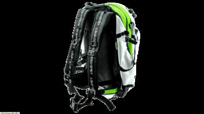 Cádo Motus Airflow gear skate skeeler bag - brilliant green/white