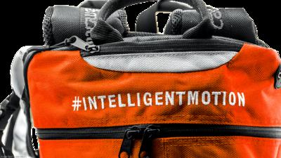 Cádo Motus Airflow gear skate skeeler bag - orange/white