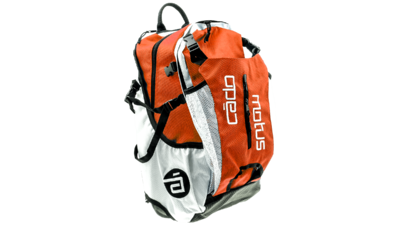 Airflow gear skate skeeler bag - orange/white