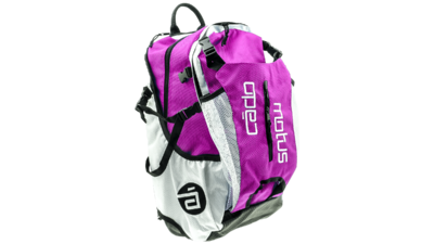 Airflow gear skate skeeler bag - fuchsia/white
