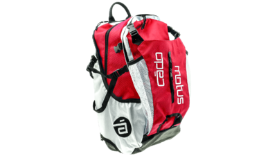Cádo Motus Airflow gear skate skeeler bag - red/white