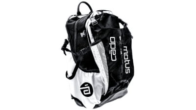 Cádomotus Airflow gear skate skeeler bag - black/white
