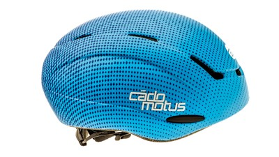 Cádomotus Casque Alpha-Youth Aerospeed bleu