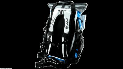 Cádomotus Versatile fiets en triathlon sporttas/rugtas - blauw/wit