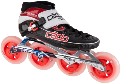 CadoMotus CadoMotus Pro 110 Carbon with CodeRed and Abec 9
