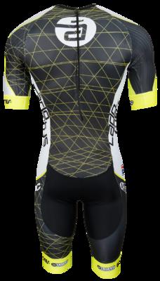 Fila Aero Speedsuit Geel