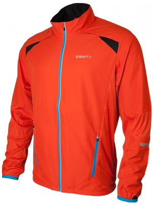 Performance Run Jacket  orange