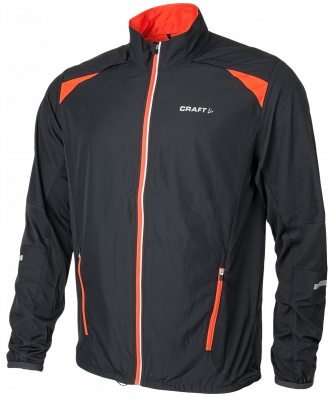 Craft Performance Run Jacket black/ orange