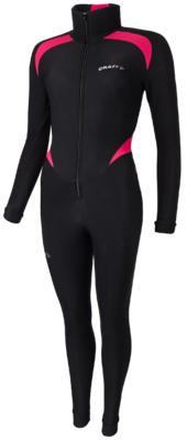 Craft Thermo schaatspak colorblock Pink