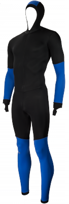 Craft SpeedSuit colorblock black/blue