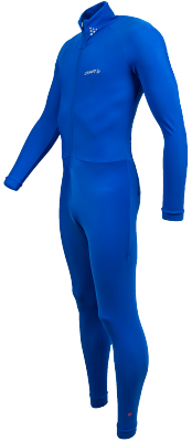 Thermo skinsuit marathon Bleu Royal