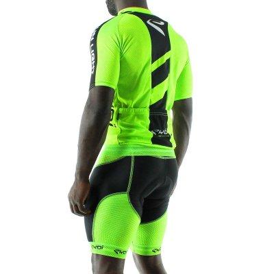 Ekoi Sunlight wielershirt 2014 Fluor groen
