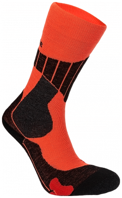 Chaussette de Ski SC1 Orange/Rouge
