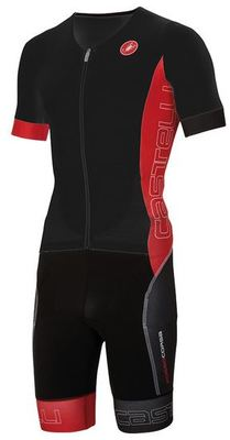Castelli Free Sanremo Tri Suit short sleeve Black Men