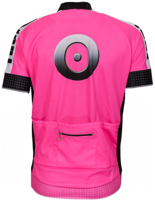Jollywear wielershirt rose Fusio
