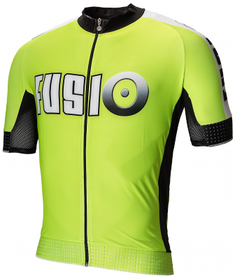 Bike shirt short sleeve Fusio fluo yellow