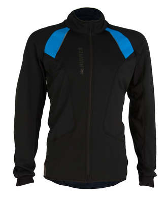 Hunter Windtex Comfort Jack Pro Black/Cyanogen