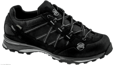 Belorado II low Bunion Lady GTX black/black