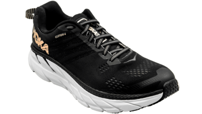 Hoka One One Clifton 6 black/rose gold