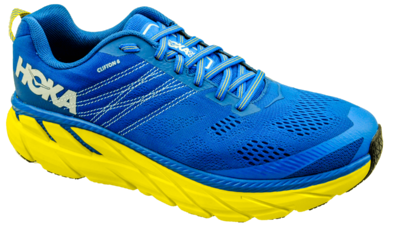 Hoka One One Clifton 6 nebulas blue/lemon [WIDE]