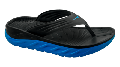 Hoka One One Men's Ora recovery flip - herstel slippers - black/blue