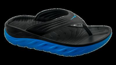 Hoka One One Men's Ora recovery flip - herstel slippers - black/blue