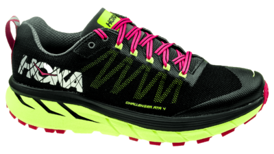 Hoka One One Challenger ATR 4 black/sharp green