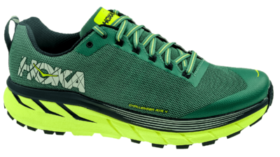 Hoka One One Challenger ATR 4 silver pine/chinos green