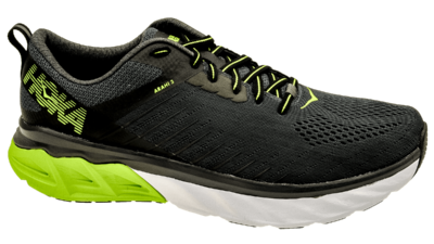 Hoka One One Arahi 3 phantom/lime green
