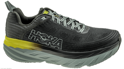 Hoka One One Bondi 6 black-olive/pavement