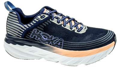 Hoka One One Bondi 6 mood indigo/dusty pink