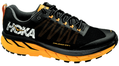 Hoka One One Challenger ATR 4 Black/Kumquat