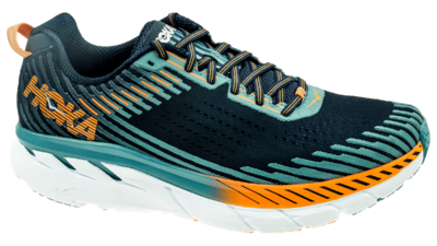 Hoka One One Clifton 5 black iris/storm blue [2E WIDE]