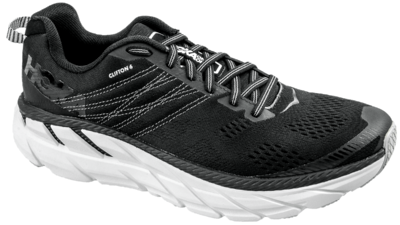 Hoka One One Clifton 6 black/white [men]