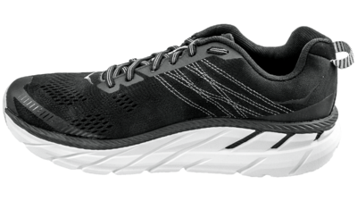 Hoka One OneClifton 6 black/white [men]