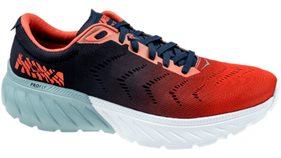 Hoka One One Mach 2 patriot blue/nasturtium