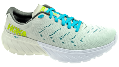 Hoka One One Mach 2 white/nimbus cloud
