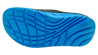 Hoka One One Men's Ora recovery slide - herstel slippers - ebony/Dresden blue