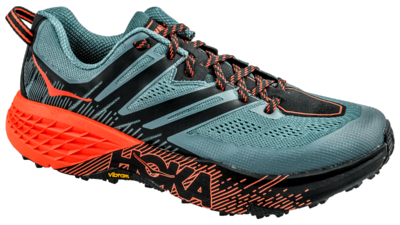 Hoka One One Speedgoat 3 stormy weather/orange