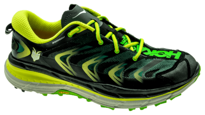Hoka One One Speedgoat bright green/black