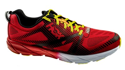 Hoka One One Tracer 2 true Tangerine Tango / Blackened Pearl